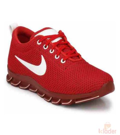Nike Red Sports Shoe For men