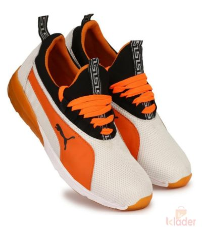 Puma Orange sports Shoe for men