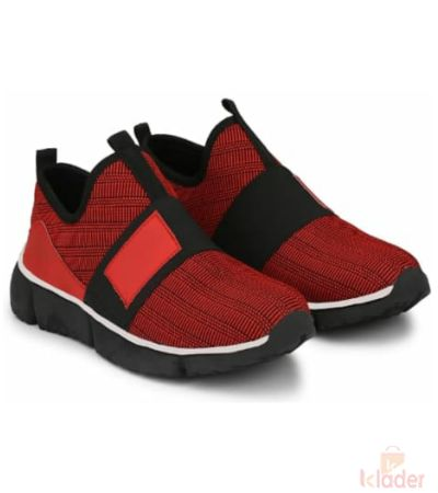 Shoematic Red Sneakers for men