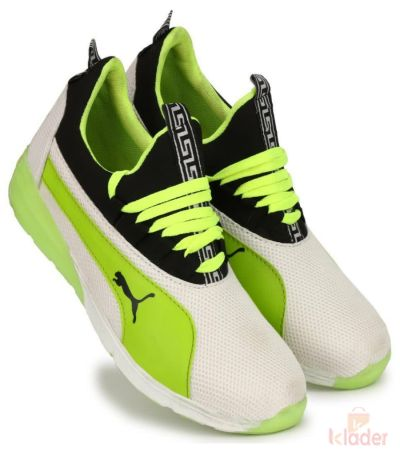 Puma Green Sports Shoe for men