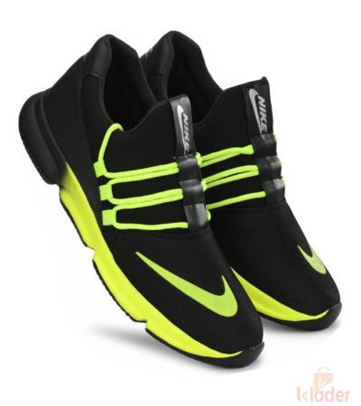 Shoematic Black Sports Shoe for men