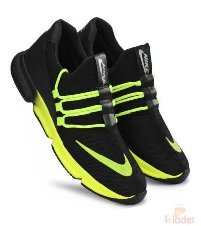 Shoematic Black Sports Shoe for men