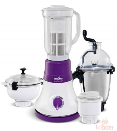 Kenstar Stalion 600 Watts Mixer Grinder with 4 jar