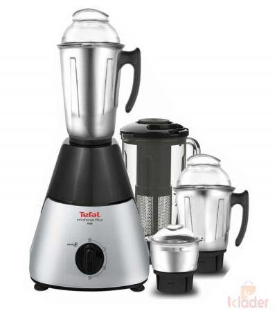 Tefal infiniforce Plus 750 Watt Mixer Grinder with 4 jars