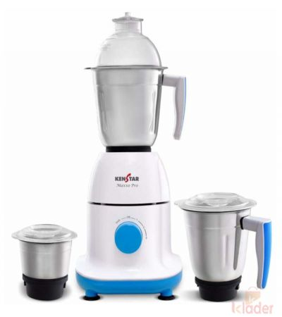 Kenstar Maxxo Pro 750 Watts Mixer Grinder with 3 jars