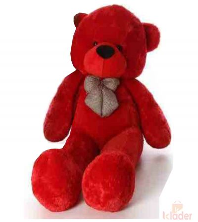 Frantic Soft Toy Red Teddy Bear 115 cm 3 75 feet