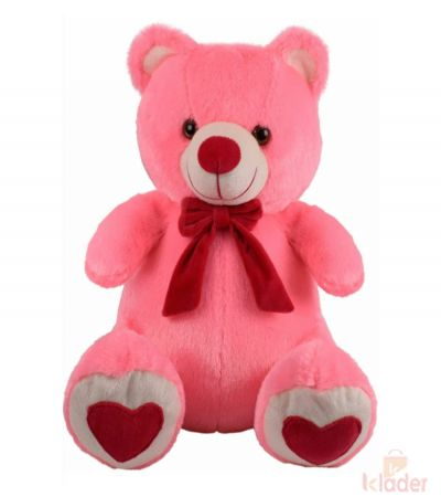 Frantic Soft Teddy Bear Pink Colour 32 cm