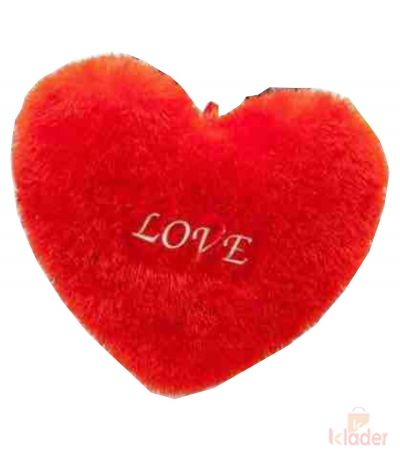 Frantic Soft Red Love Pillow