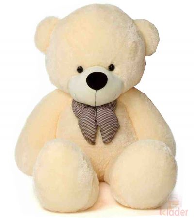 Frantic Soft Toy Butter Colour Teddy Bear 85 cm