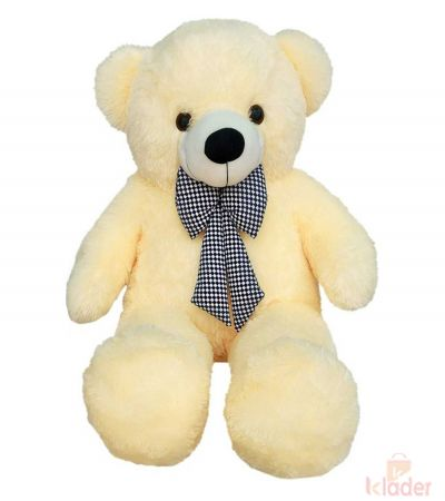 Frantic Soft Teddy Bear Butter Colour 115 cm