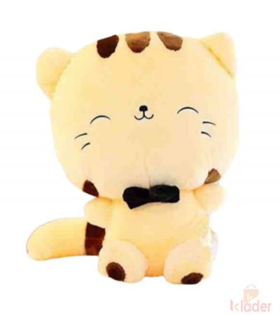Soft Toy Hello Kitty Peach Colour 25 cm with Embroidery work