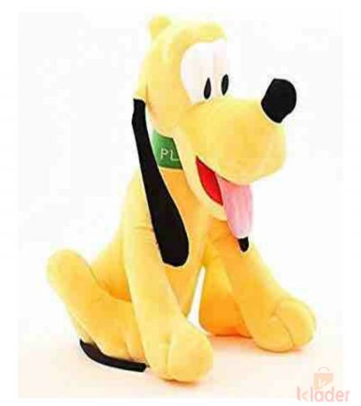 Frantic Soft Plush Toy Pluto 30 cm PVC zipper for packing