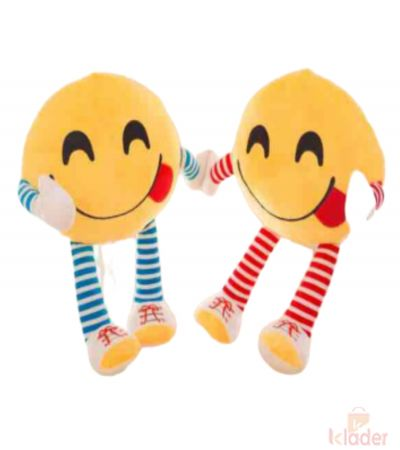 Frantic Soft Plush Smiley Pillows Hungry Style Pack of 2