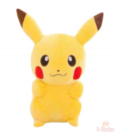 Frantic Soft Toy Pikachu 27 cm with PVC zipper for packing