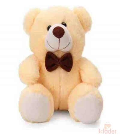 Frantic Soft Teddy Bear Peach Colour 32 cm