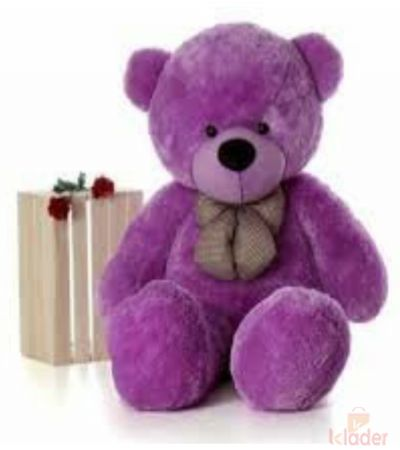 Frantic Soft Toy Teddy Bear Purple Colour 150 cm 5 feet long