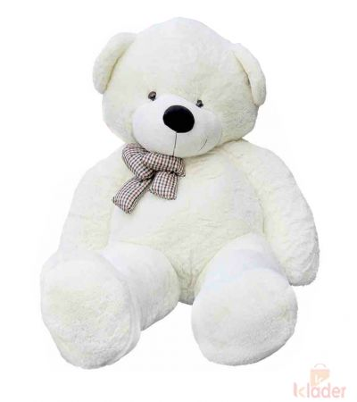 Frantic Soft Toy Teddy Bear White Colour 150 cm 5 feet