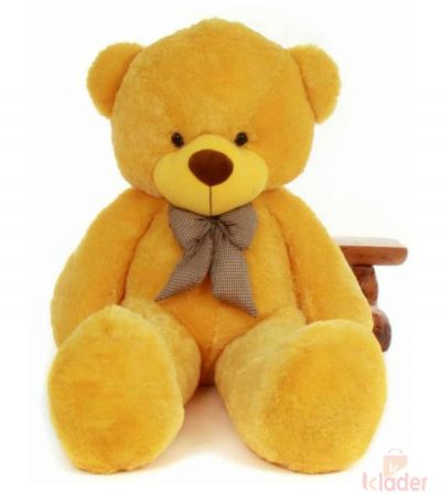 Frantic Soft Toy Teddy Bear Yellow Colour 150 cm 5 feet long