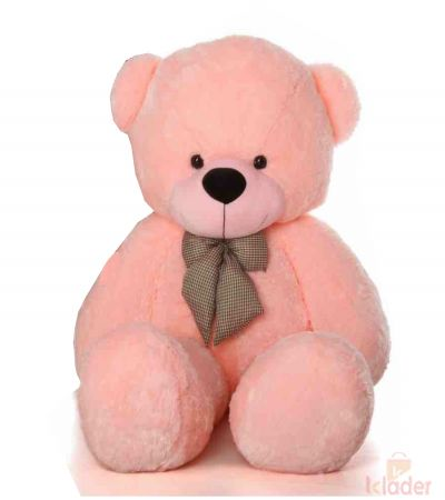 Frantic Soft Toy Light Pink Teddy Bear 115 cm 3 75 feet