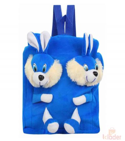 Frantic Soft Toy Plush Bag Blue Rabbit