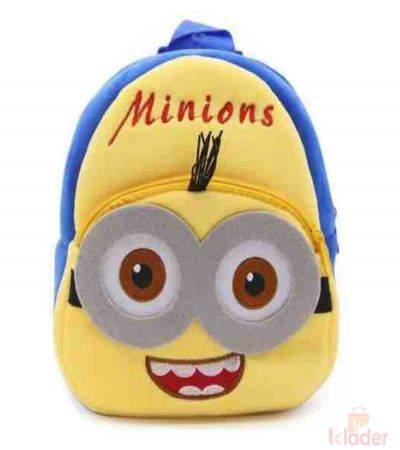 Frantic Soft Toy Plush Bag Minnion