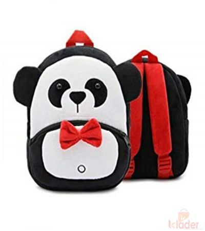 Frantic Soft Toy Plush Bag Black Panda