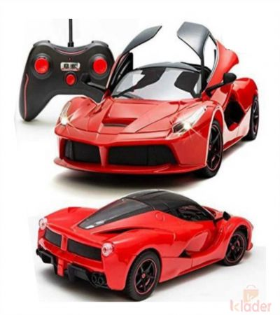 Remote Control Car Reachargable Opening Door Red