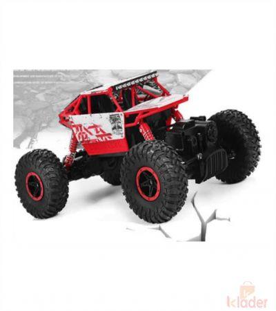 Rock Crawler Remote Control Rechargable Four Wheel Drive Monster Car Multicolour