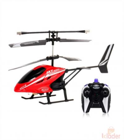 Remote Controlled Helicopter with Unbreakable Blades