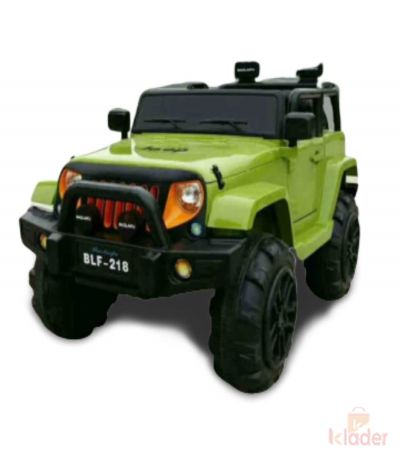 Green Colour Jeep
