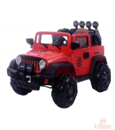 Red Colour Jeep