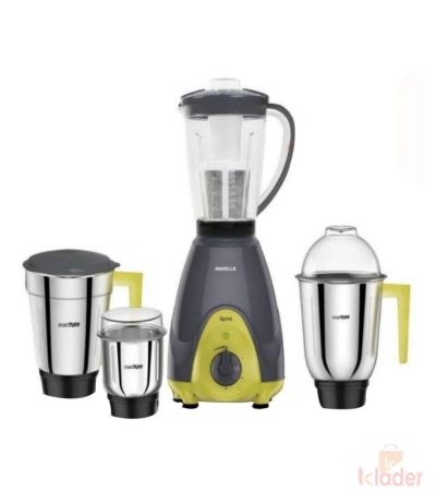 Havells GHFMGAGE060 600 Watt Mixer Grinder with 3 jars