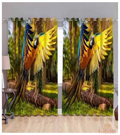 Best Quality Digital Print Curtain Size 4x7ft 2Pieces
