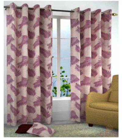 Printed Polyster Curtains rose