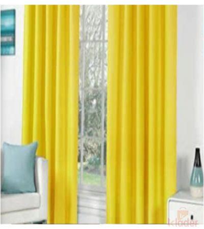 Beautiful Royal Plain Bamboo Curtains, Size 4 x 7 ft 20 Pieces