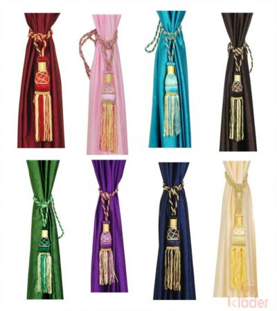 Beautiful Curtain Tussel Tie Back To Hold Curtain 24 piece