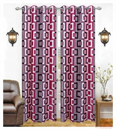 Beautiful Suprimo Quality Box Maroon Colour Size 4x7ft 10 Piece
