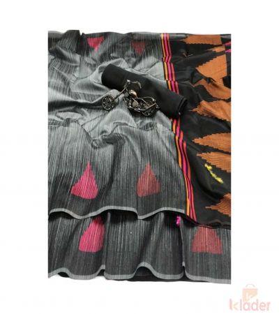 Silk Party Wear Rich Pallu Jecard Border For Women