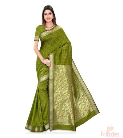 Silk Festive Wear Banarsi Jacquard Print for Women 8 Piece set