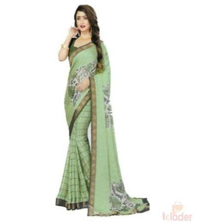 Women's Catalogue Printed Saree with blouse piece 6 Piece