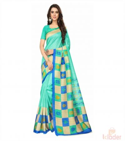 Bhagalpuri Silk Casual Wear Printed Saree