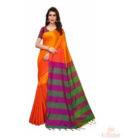 Cotton Silk Casual Wear Printed Saree