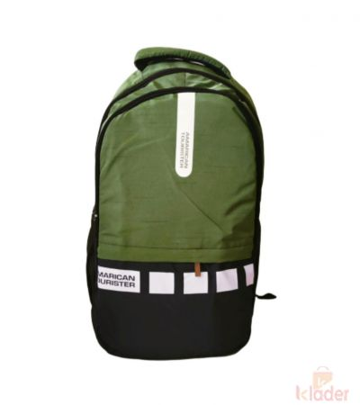 School and College Bag For Boys ans Girls 25 Ltr 4 Piece Green