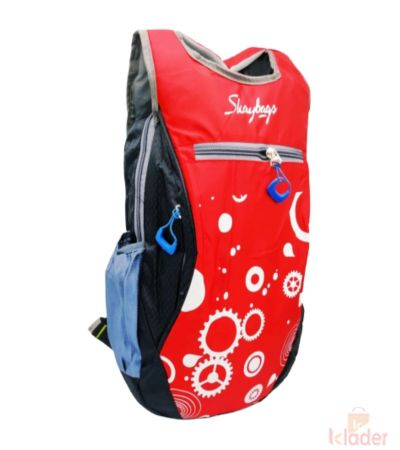 School and College Bag 22 Ltr 4 Piece Red