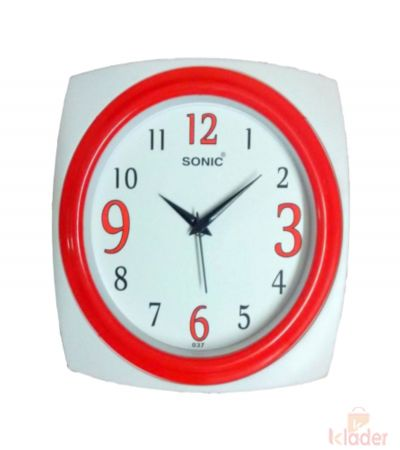 5 Colour Wall Clock 10 Piece set