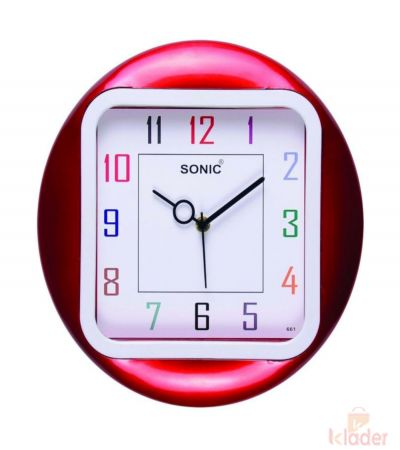 Sonic Wall Clock 3 Piece set