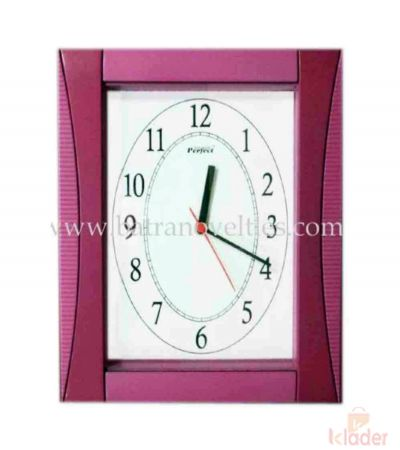 Squared Wall Clock 6 Piece set