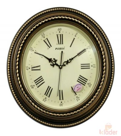 Round Nostalgic Wall Clock 6 Piece