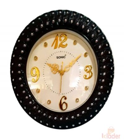 Sonic Round Wall Clock 3 Piece