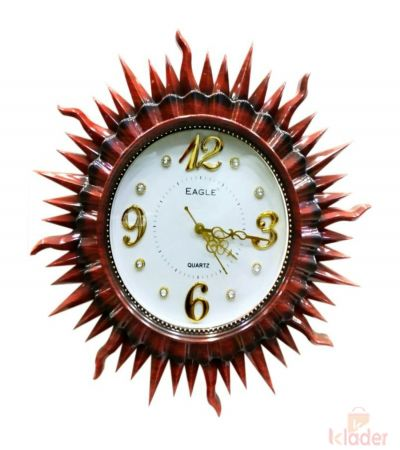 Sunrise Wall Beauty Clock 3 Piece